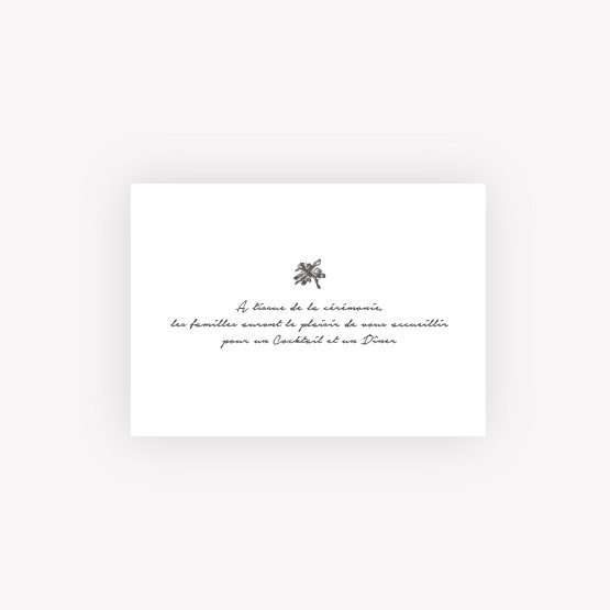 invitation mariage palmier