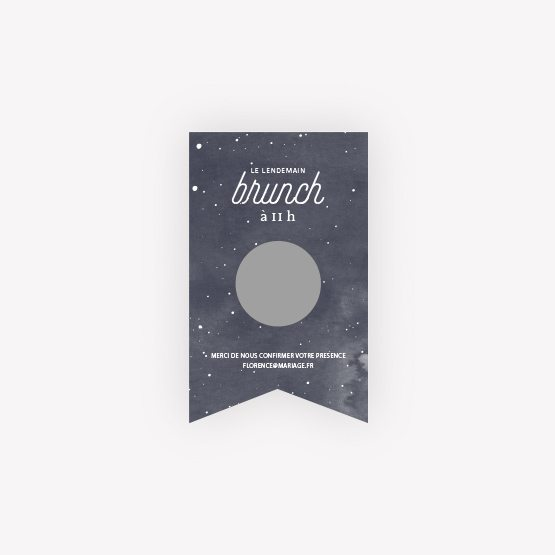 invitation brunch Moon