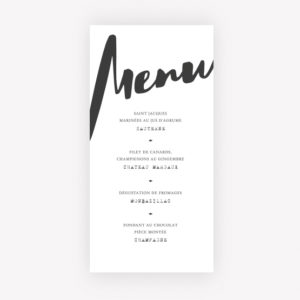 menu ethnique