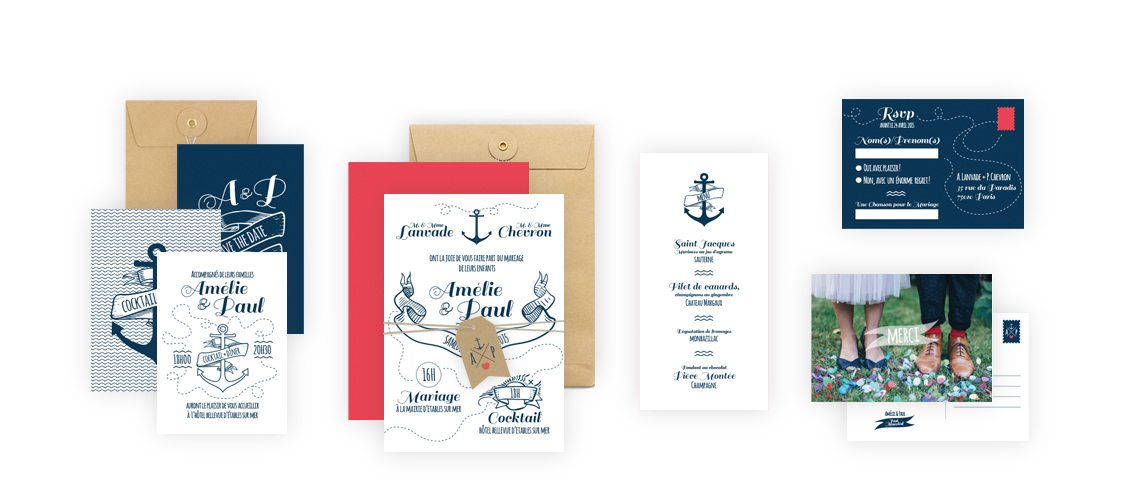 Collection de fair-part Anchor