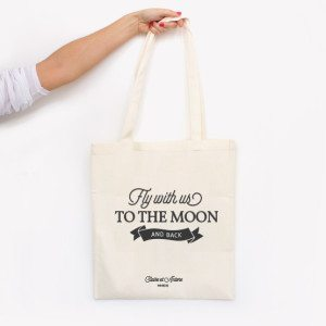 tote bag moon