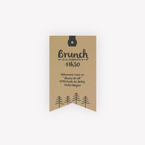 invitation brunch kraftinvitation brunch Montagne
