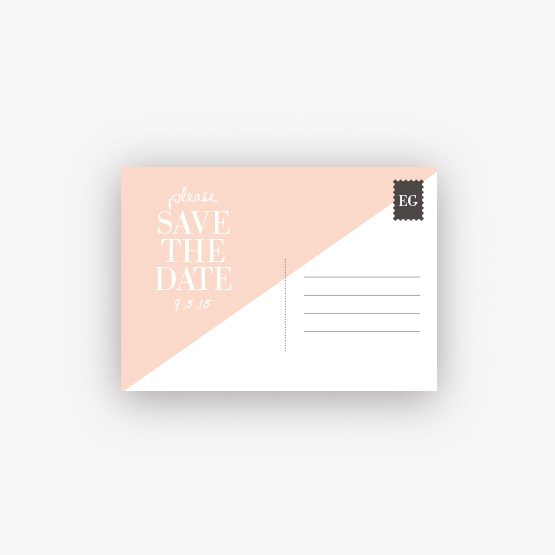 carte save the date Graphik