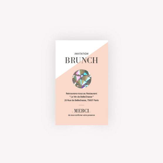 invitation brunch Graphik
