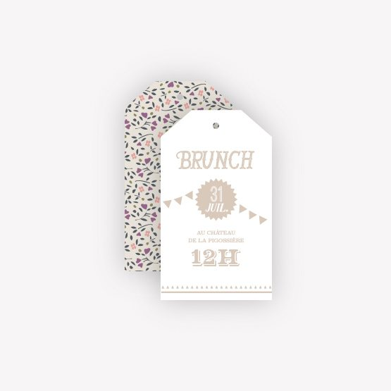 carton invitation brunch guinguette