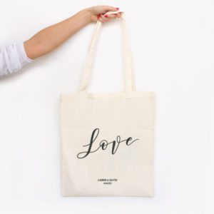 tote bag aquarelle