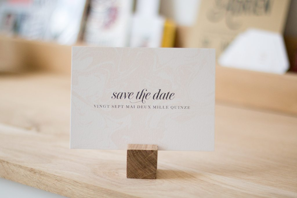 les cartes save the Date