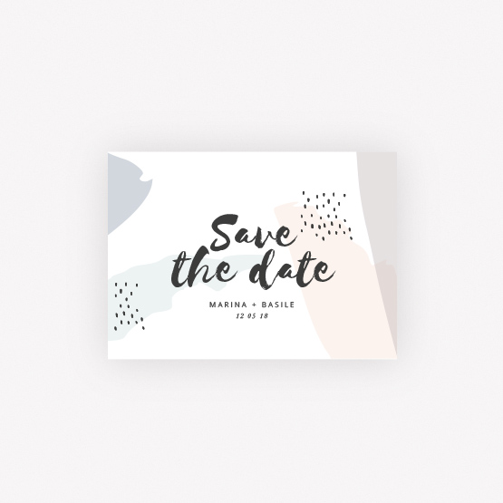 carte save the date Creatif