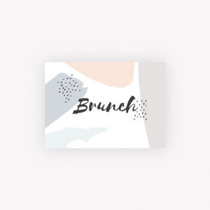 carton brunch creatif
